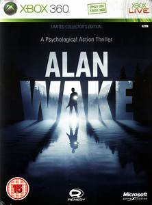 Alan Wake Limited Collector39s Edition 2010 Xbox 360