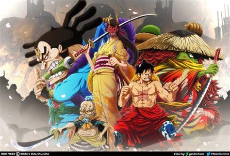 One piece boa hancock 1152x864 anime one piece hd art. One Piece Arco De Wano Wallpaper - Bakaninime