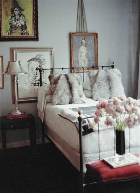 chambre fourrure idées déco hiver pour un intérieur chaleureux