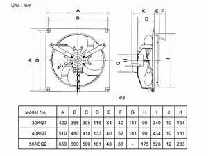 KDK Industrial Wall-mounted Shutter series 30cm(12 ...