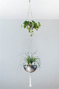Suspension Plante Macramé : suspension pour plantes 2 tages bymadjo equinox d co ~ Teatrodelosmanantiales.com Idées de Décoration