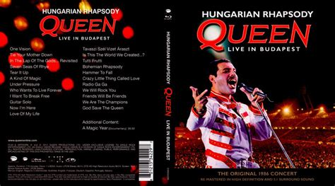 Hungarian Rhapsody: Queen LIVE in Budapest blu-ray dvd ...