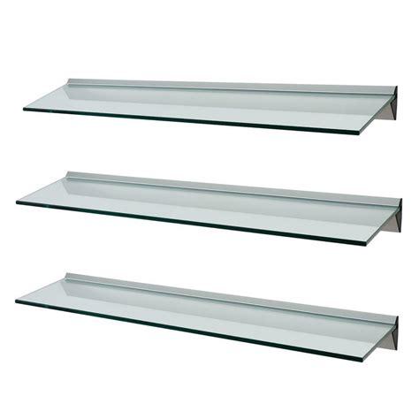 glass shelf glass shelf supports home furniture diy ebay