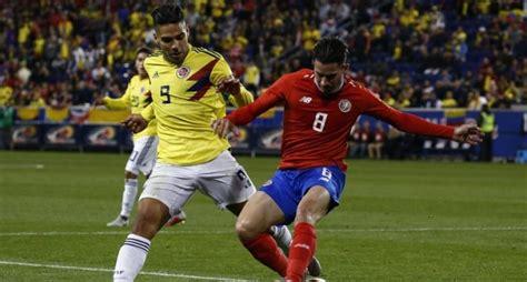 Colombia derrotó 3-1 Costa Rica en Estados Unidos