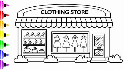 Coloring Drawing Pages Draw Clothing Clothes Drawings