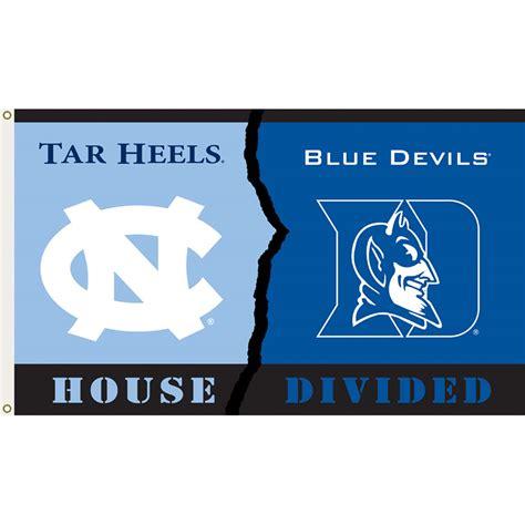 North Carolina Vs Duke 3ftx5ft House Divided Flag