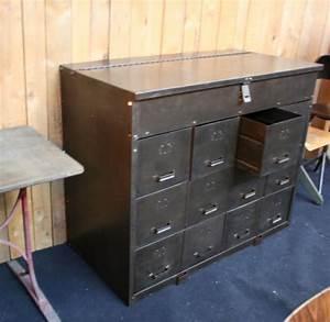 Casier Industriel Metal : meuble industriel casier meuble m tal ~ Teatrodelosmanantiales.com Idées de Décoration