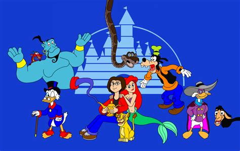 Disney-heroes And Me By Darkdiddykong On Deviantart