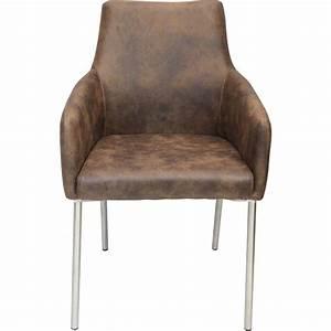 Chaise Fauteuil Avec Accoudoir : chaise avec accoudoirs pieds acier ~ Melissatoandfro.com Idées de Décoration