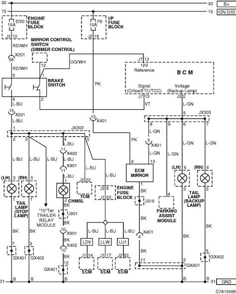 Rear Light Wiring Diagram Chevrolet Owners Club Forum