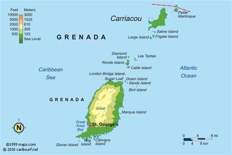 GRENADA MAPS