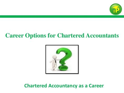 Career Options For Chartered Accountants