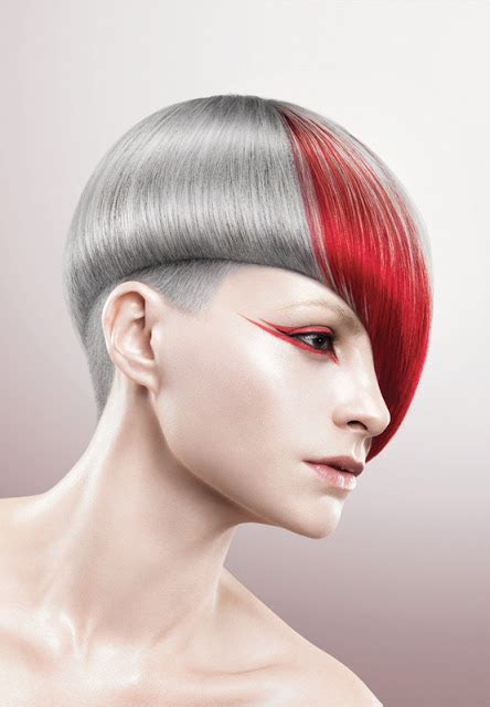 multi colored short hairstyles  haircut web