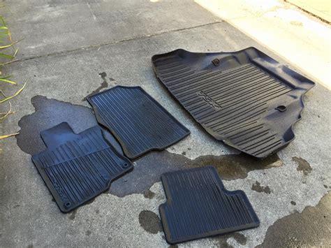 Acura Tsx Floor Mats 2013 by Fs Used All Season Floor Mats Oem Acura Tsx Cu2