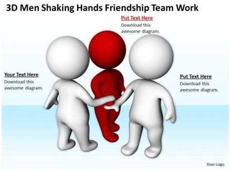 men shaking hands friendship team work  graphics