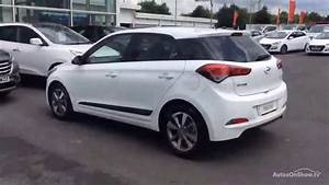Hyundai I20 2016 : hyundai i20 mpi premium blue drive white 2016 youtube ~ Medecine-chirurgie-esthetiques.com Avis de Voitures