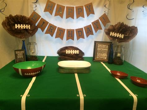Football Decorations - football not just a s easy peasy pleasy