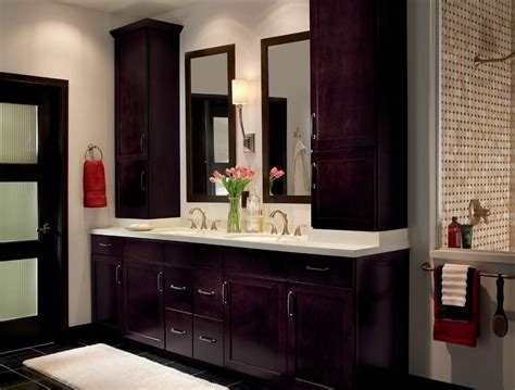 Bathroom Cabinet With by Style 410s In Maple Espresso