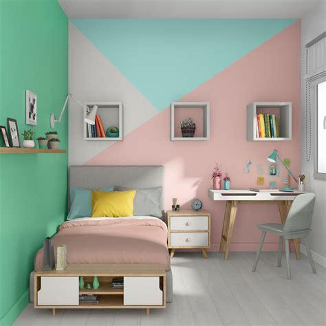 peinture chambre fille garcon ado bebe quelle couleur