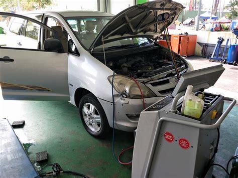masalah aircond kereta toyota acs car service