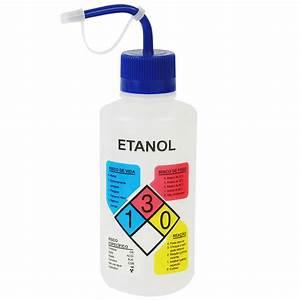Pisseta Em Polietileno 500ml Para Etanol Com Classifica U00e7 U00e3o