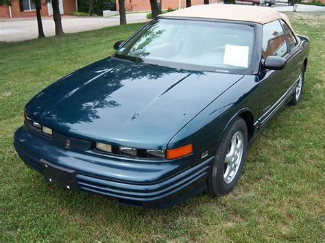 manual cars for sale 1995 oldsmobile achieva regenerative braking buy used 1995 oldsmobile cutlass supreme convertible 2 owner low miles very nice car in