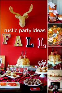 A, Rustic, Fall, Party