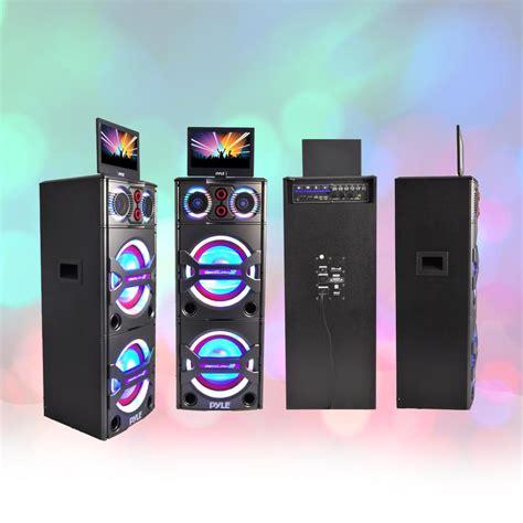 pyle pkrk bluetooth pa loudspeaker karaoke