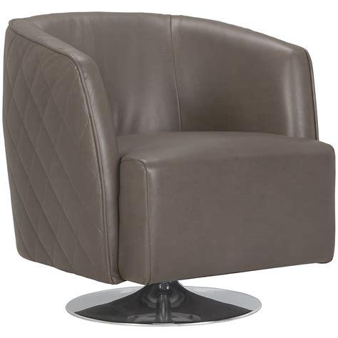 city furniture loki dk gray microfiber swivel accent chair