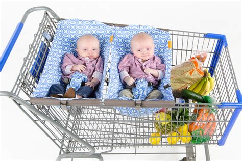 Infant Car Seat Shopping Cart Solution