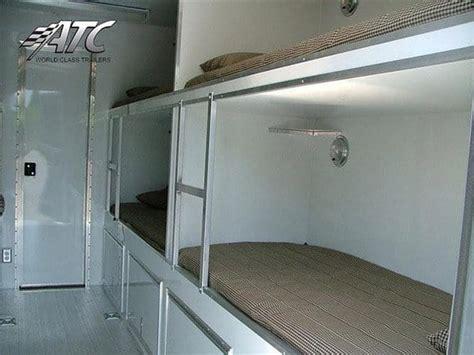 fr amusement bunk bed trailer mo great dane trailers