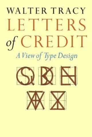 letters  credit  view  type design  walter tracy