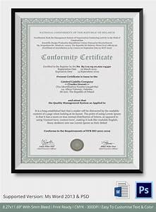 Certificate Border Word 12 Conformance Certificates Psd Word Ai Indesign