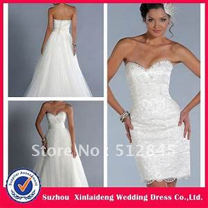 yw 12061476 elegant lace convertible wedding dress with With convertible wedding dresses detachable skirts