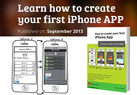 how to make an iphone app learn how to create your iphone app ebook only 5
