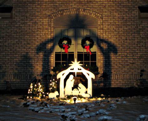 plywood nativity scene plans diy    wooden