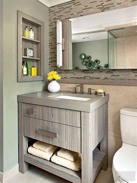 Bathroom Vanities Small Spaces by Small Bathroom Vanity Ideas Better Homes Gardens