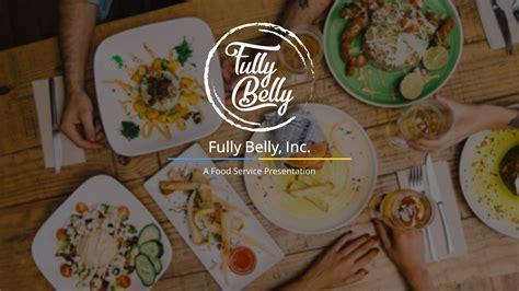 food service premium powerpoint template slidestore