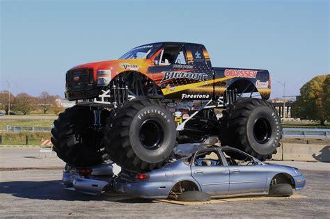 bigfoot monster truck bigfoot is real and it ll appear at the atlanta motorama