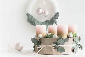 Weihnachtsgestecke Selber Machen : adventskranz selber machen modern mit sukkulenten ros und gold ~ Whattoseeinmadrid.com Haus und Dekorationen