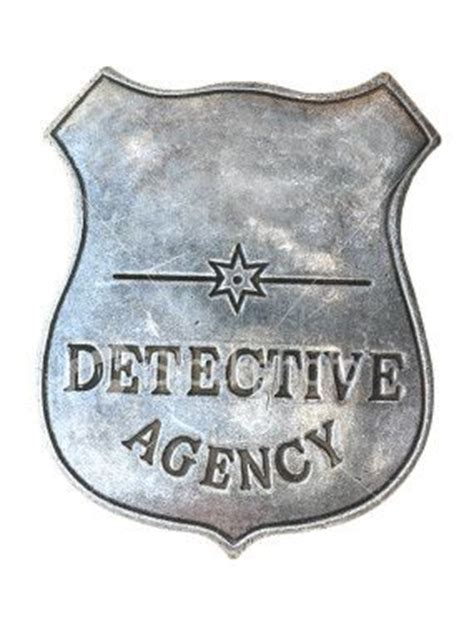 detective badge   classroom detective party