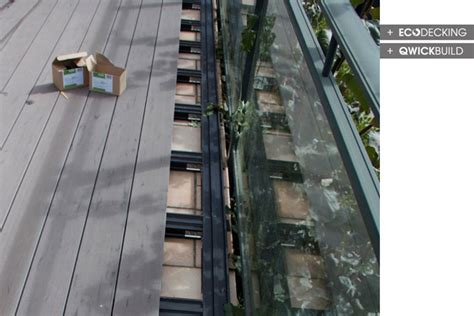 Installing Trex Decking Concrete by Composite Deck Install Composite Deck Concrete