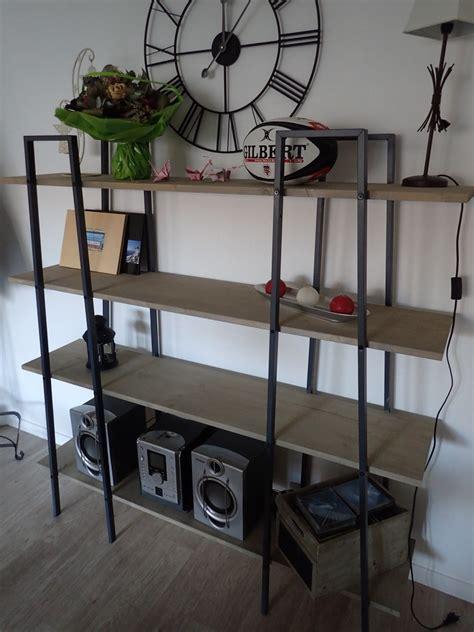 etag鑽e bureau fabriquer des étagères style industriel à partir d 39 étagères ikea lerberg bidouilles ikea