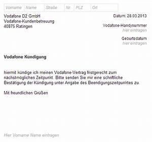 Kündigung Telekom Anschluss Vorlage Kündigung Vorlage