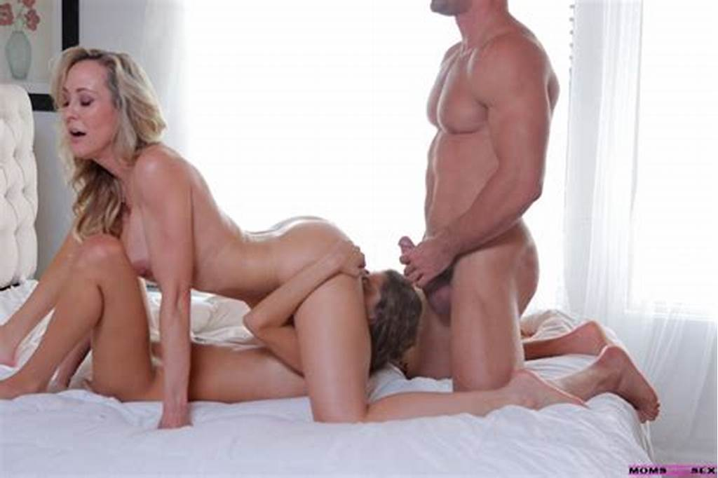 #Moms #Teach #Sex #Brandi #Love #& #Rebel #Lynn #In #While #Mom #Is
