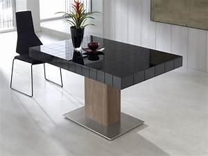 Table Pied Central Extensible : table manger extensible mod tablet ~ Teatrodelosmanantiales.com Idées de Décoration