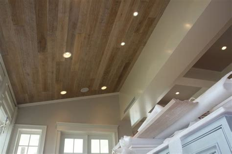 wood flooring on ceiling captiva home ceiling contemporary kitchen other metro by feil inc wood flooring stairs