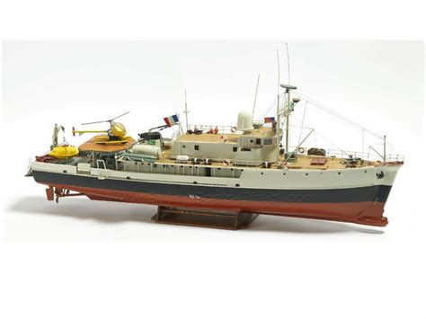 billing boats  calypso research ship model boat