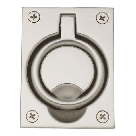 emtek cabinet pulls amazon baldwin door hardware flush ring pull 0395 150 hardware
