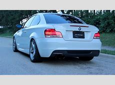 Challenge BMW E82 135i Stainless Steel Catback Race